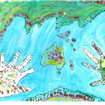 001 - The World is in My Hands Alarah Gwyn - Age 7