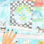 008 - An Artist's World Mia Betteridge - Age 11 Mia Fischhof - Age 10