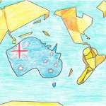 017 - Australia in an Abstract World Azsryia Holland - Age 10