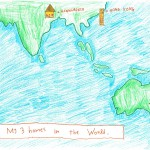 021 - My 3 homes in the World Naeela Nusaibah - Age 7