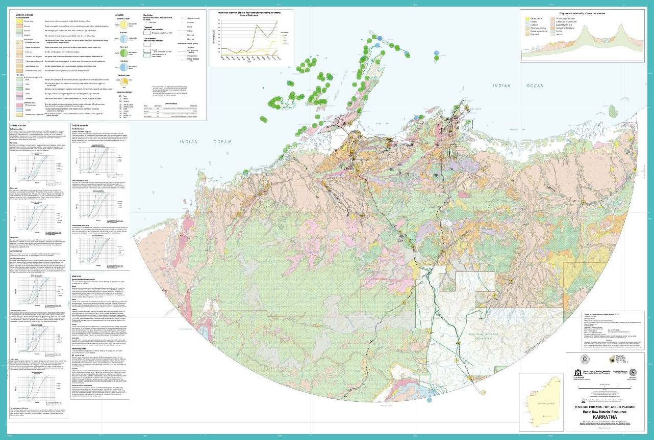 Basic Raw Material Resources KARRATHA Mapping Sciences Institute