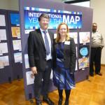 Professor Gartner (ICA president) and Trisha Moriarty (MSIA president)