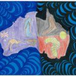 17 - A Combination of Ausriginal (Australia, Aboriginal) Judith Momtaze - Age 14